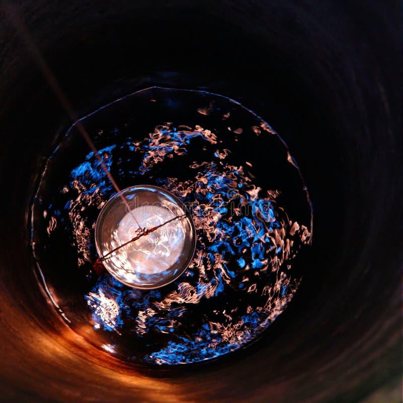 Vista da água bem do interior imagens de stock