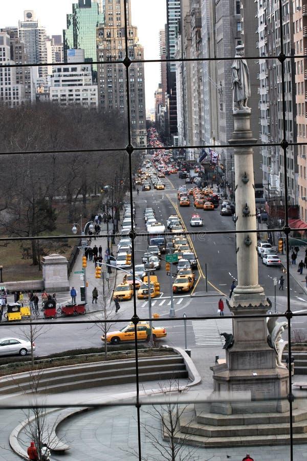 Vista da alameda do círculo de Columbo imagens de stock