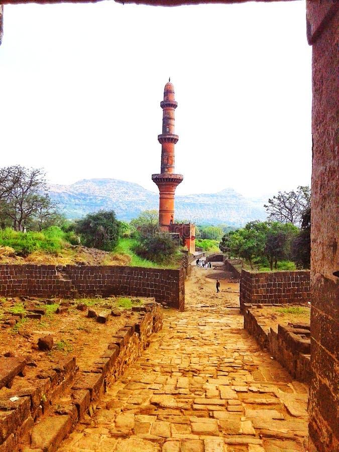 Vista da Aurangabad, maharashtra, India, Asia fotografia stock libera da diritti