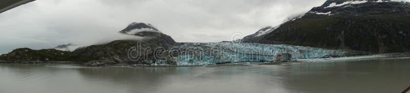 Vista da baía de geleira foto de stock