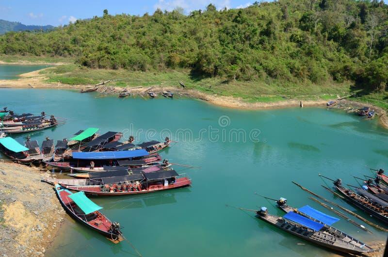 Vista da baía em Tailândia fotos de stock