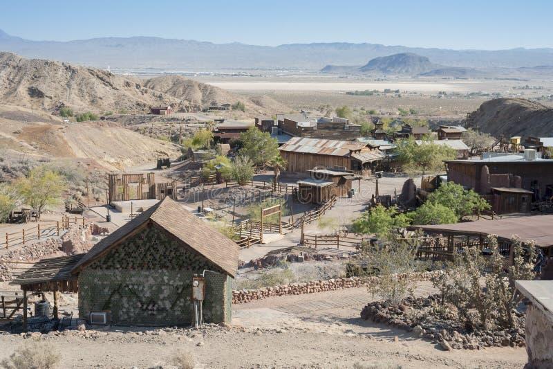 Vista da chita, Califórnia, San Bernardino County fotografia de stock royalty free