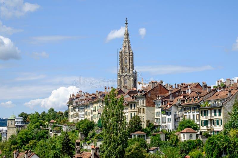 Vista da cidade Berna foto de stock