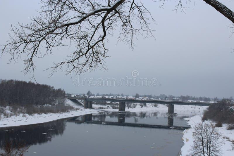 Vista da cidade de Polotsk, Bielorrússia foto de stock royalty free