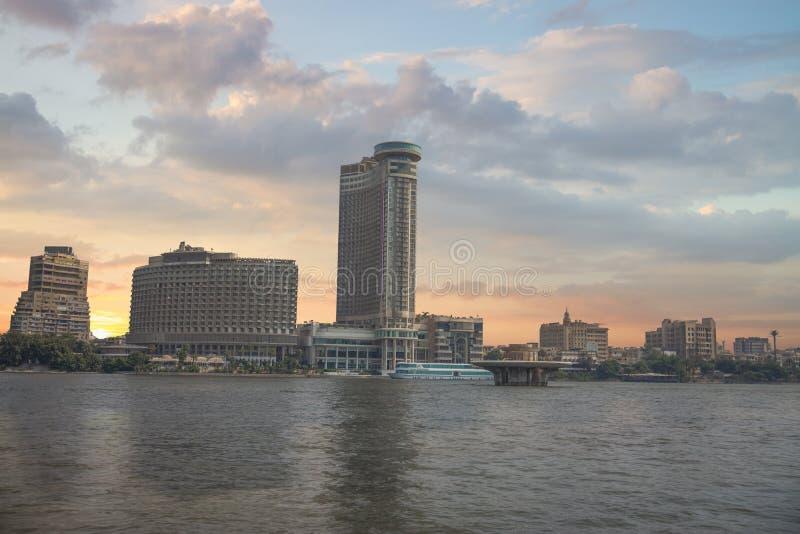Vista da cidade do Cairo fotos de stock royalty free
