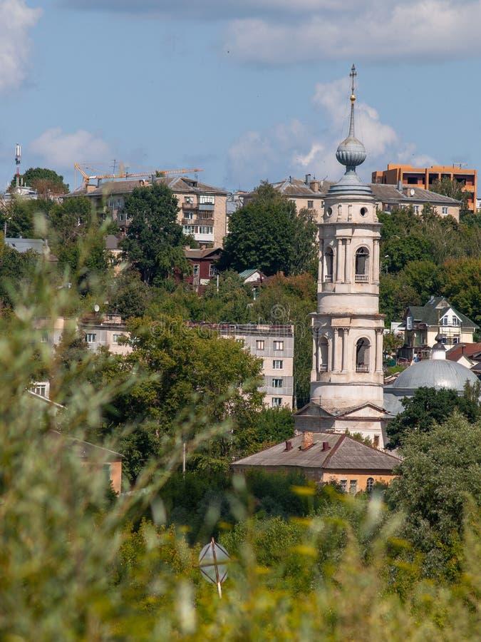 Vista da cidade do russo de Kaluga imagem de stock royalty free