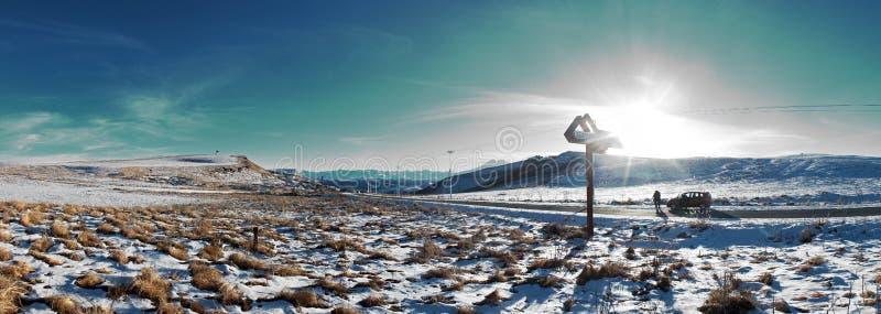Vista da estrada Jili-SU fotos de stock