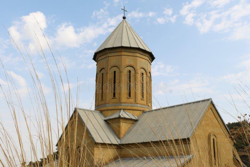 Vista da igreja do St Nikolas fotos de stock royalty free