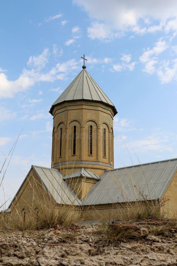 Vista da igreja do St Nikolas fotos de stock