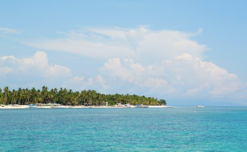Vista da ilha de Panglao (Filipinas) imagens de stock royalty free