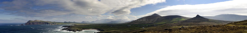 Vista da Irlanda fotos de stock