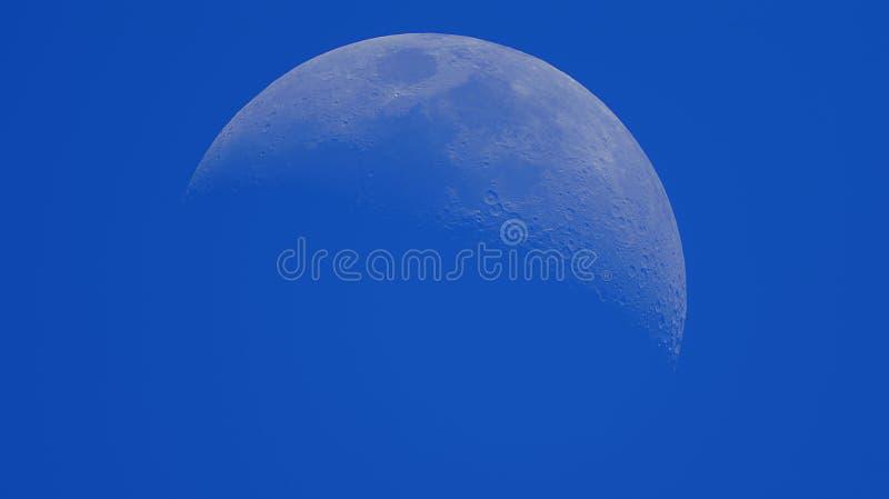 Vista da lua imagens de stock