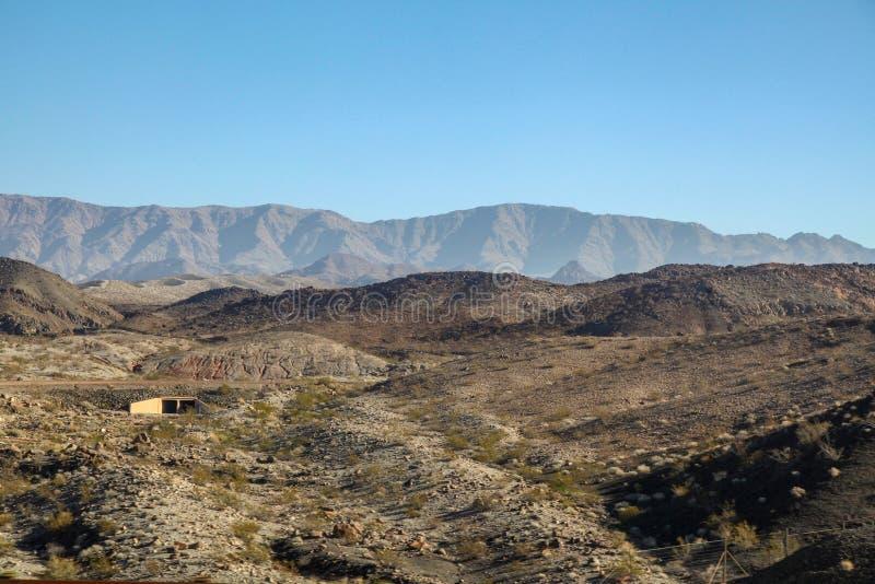 vista da montanha em Nevada fotos de stock royalty free