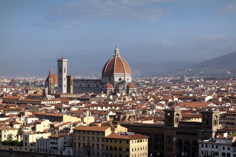 Vista da Piazzale Michelangelo, Firenze, Italia fotografia stock