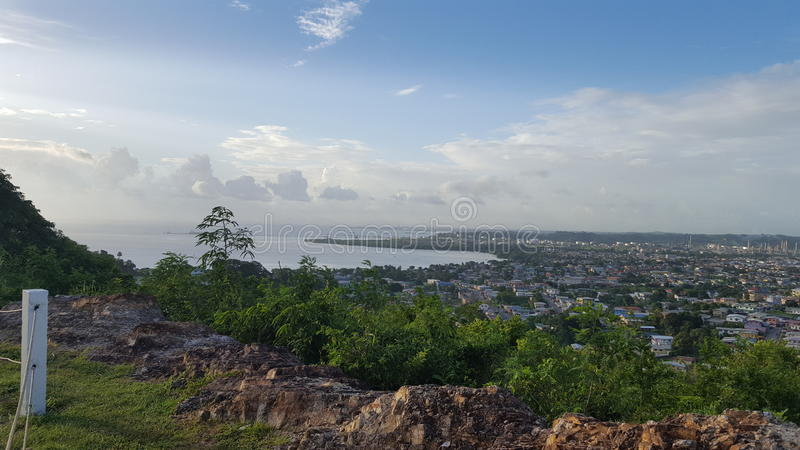 Vista da vigia foto de stock royalty free