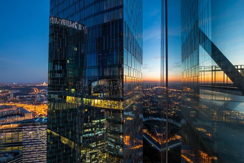 Vista dal grattacielo fotografie stock libere da diritti
