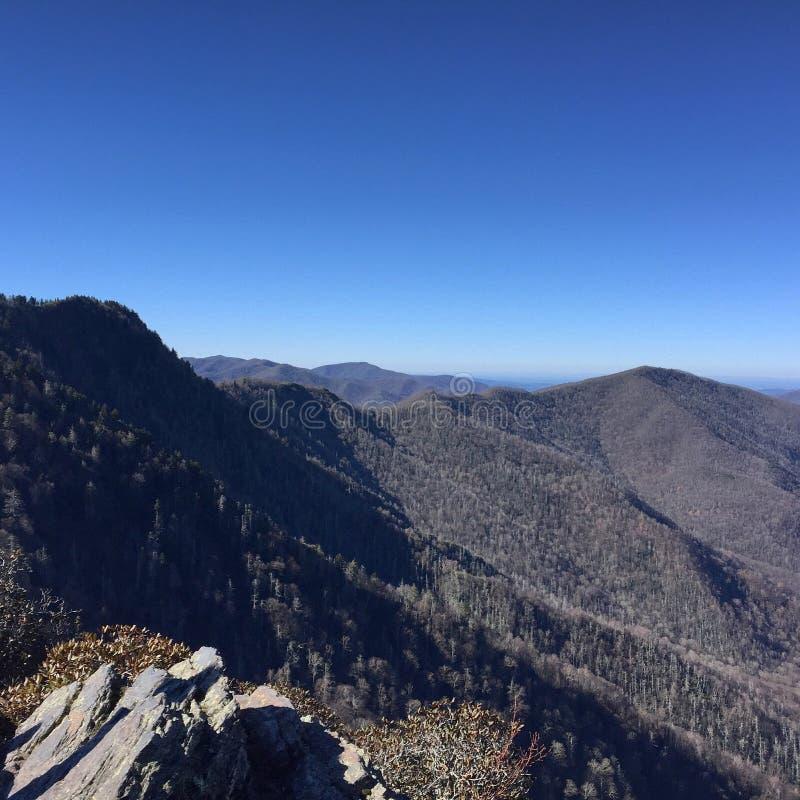 Vista dal Mt Olympus fotografia stock