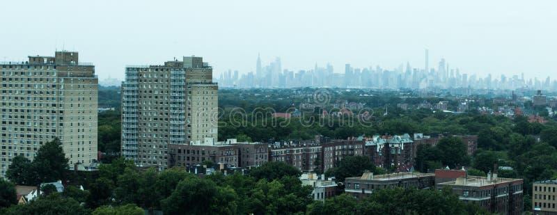 Vista dal Queens fotografia stock