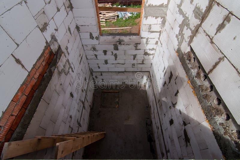 Vista dal secondo piano a quello primo fotografie stock