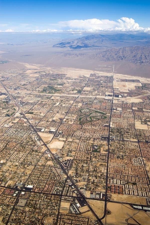 Vista dall'aeroplano immagini stock