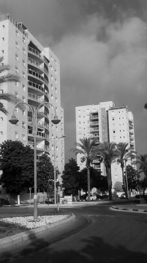 Vista dalla città tropicale immagini stock libere da diritti