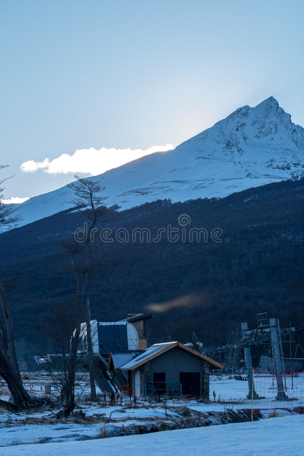 Vista dalla macchina per colata continua di Cerro fotografia stock libera da diritti
