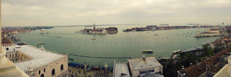 Vista dalla torre di San Marco fotografia stock libera da diritti