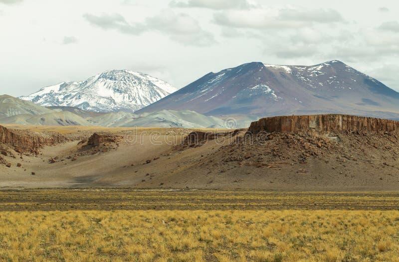A vista das montanhas e as formações de rocha em Sico passam fotos de stock royalty free