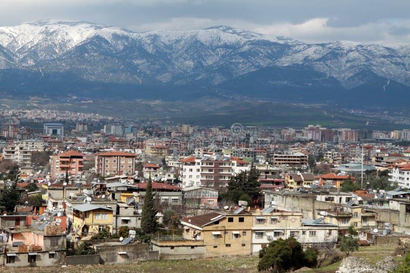 Vista de Antioquia. imagem de stock