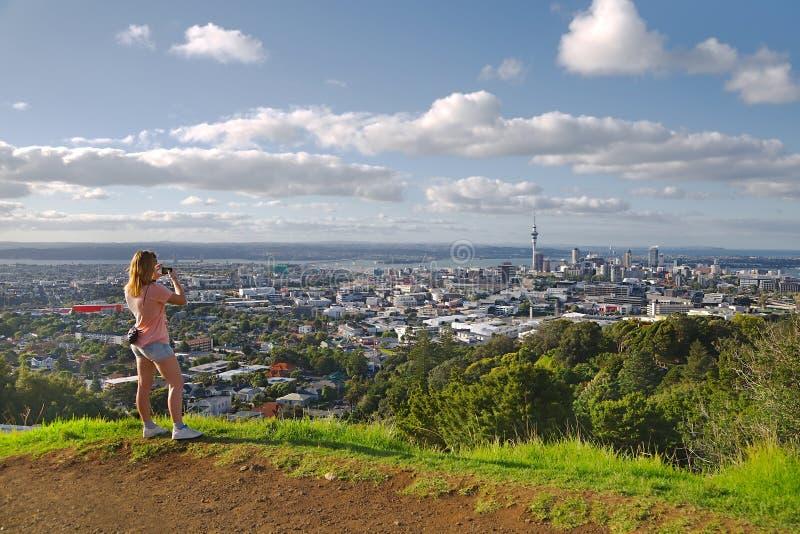 Vista de Auckland fotos de stock royalty free
