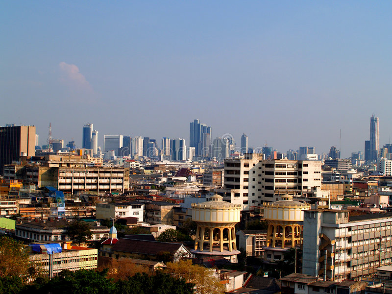 Vista de Bangkok 03 imagenes de archivo