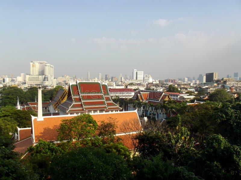 Vista de Bangkok foto de archivo libre de regalías