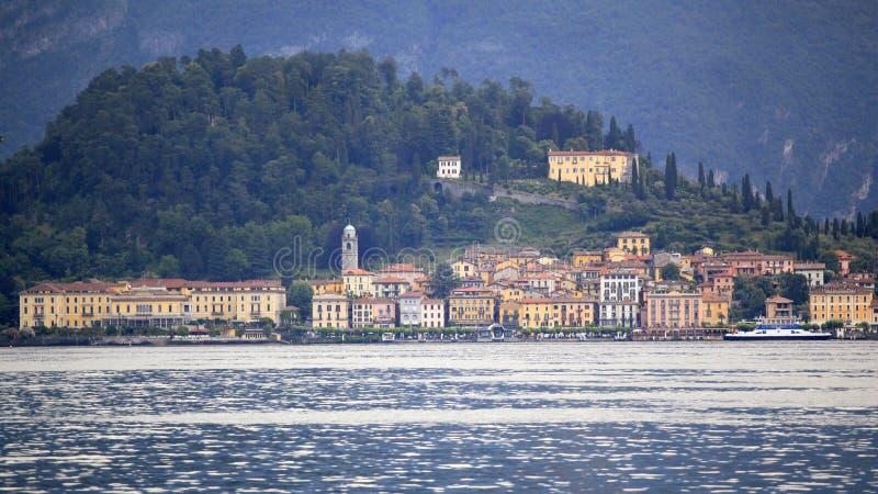 Vista de Bellagio - cidade bonita de Lago di Como fotos de stock