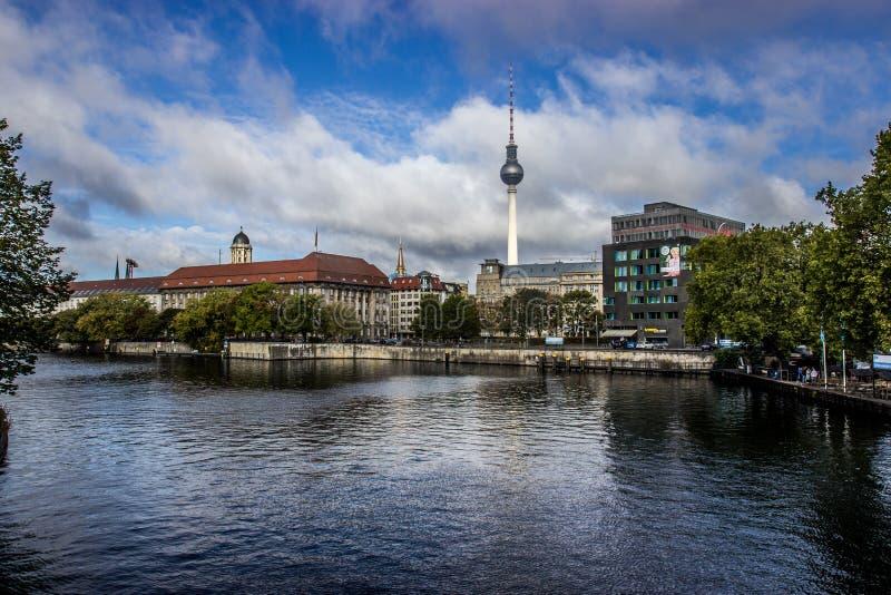 Vista de Berlim fotografia de stock royalty free
