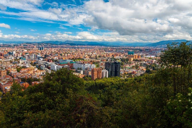 Bogotá, arquitectura da cidade de Colômbia fotografia de stock