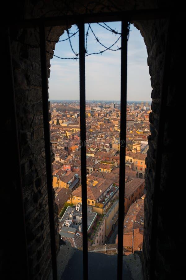 Vista de Bolonia imagen de archivo libre de regalías