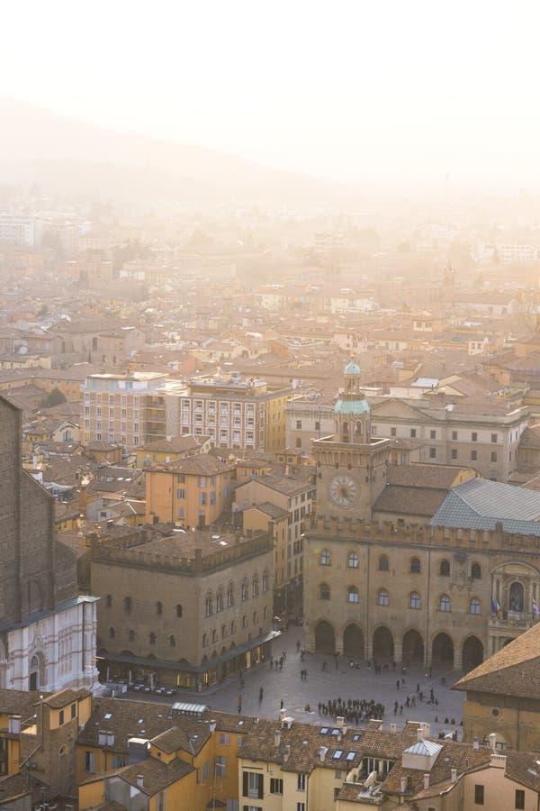 Vista de Bolonia imágenes de archivo libres de regalías