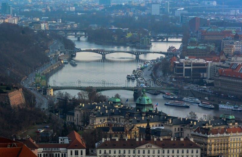 Vista de Budapest foto de archivo