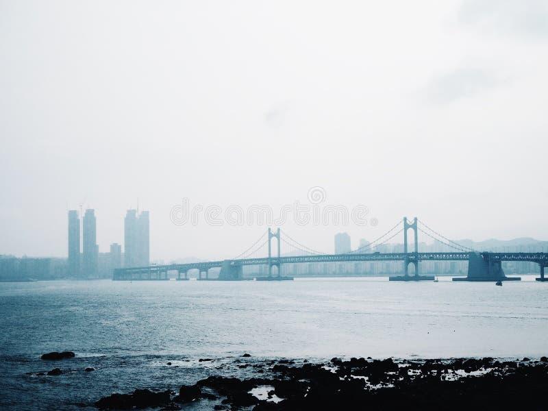 Vista de Busán fotos de archivo libres de regalías
