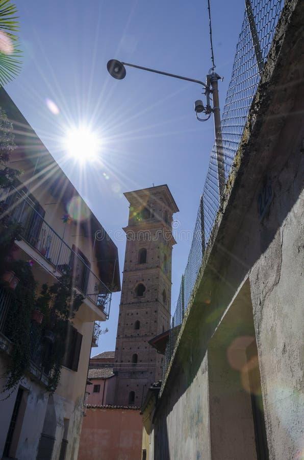 Vista de Carmagnola Turín fotos de archivo libres de regalías