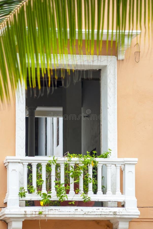 Vista de Cartagena de Índia imagem de stock royalty free