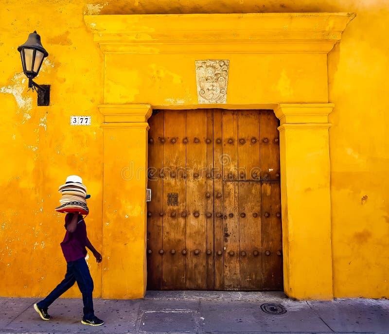 Vista de Cartagena colombia fotos de archivo