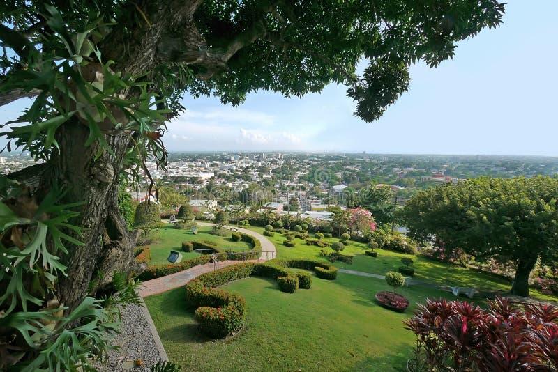 Vista de Castillo Serralles fotografia de stock royalty free