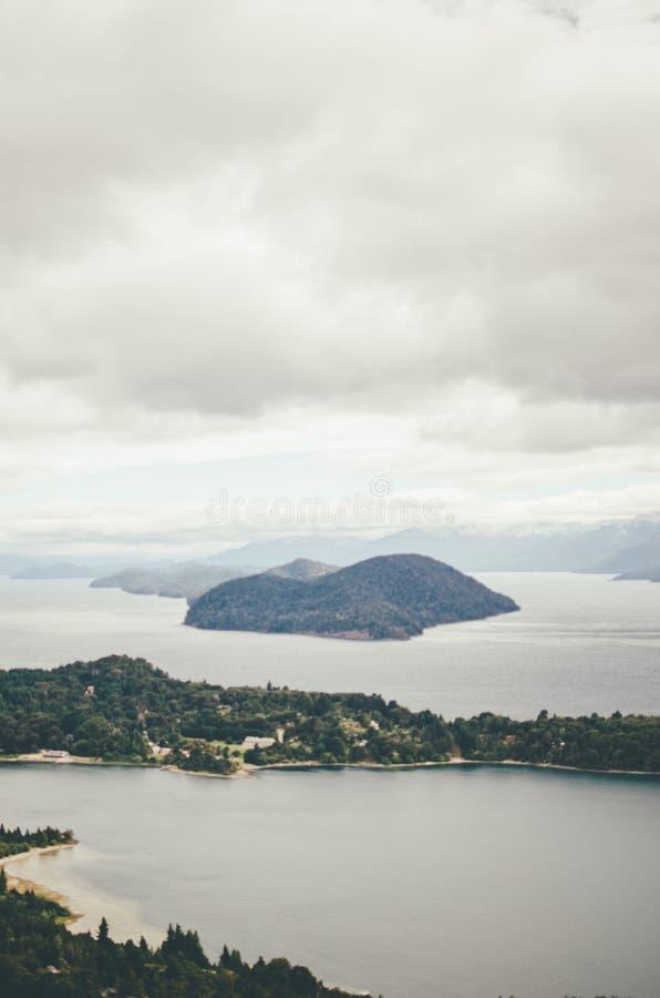 Vista de Cerro Campanario imagens de stock royalty free