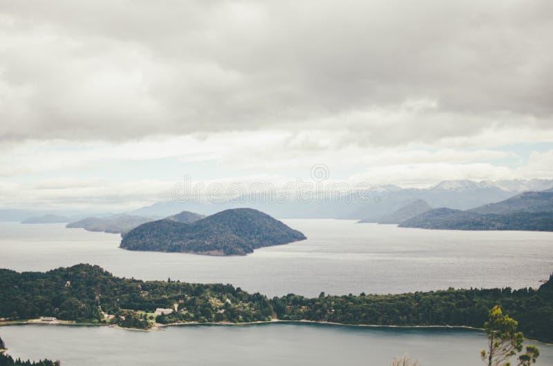 Vista de Cerro Campanario foto de stock