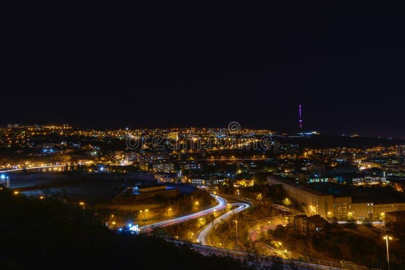 Vista de Ereván, la capital de Armenia foto de archivo libre de regalías