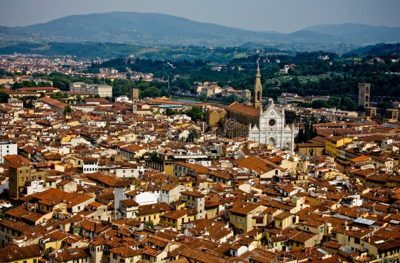 Vista De Firenze De La Bóveda Foto de archivo