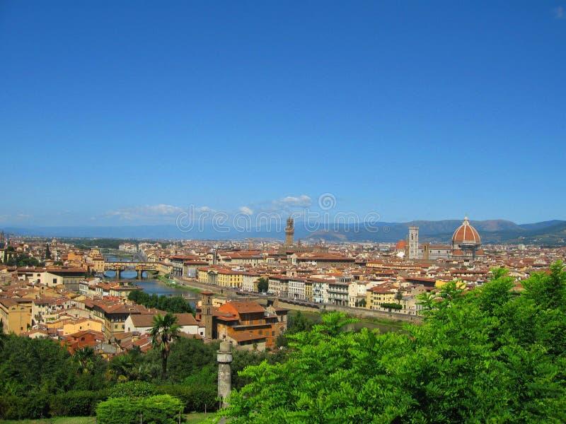 Vista de Florencia fotografía de archivo