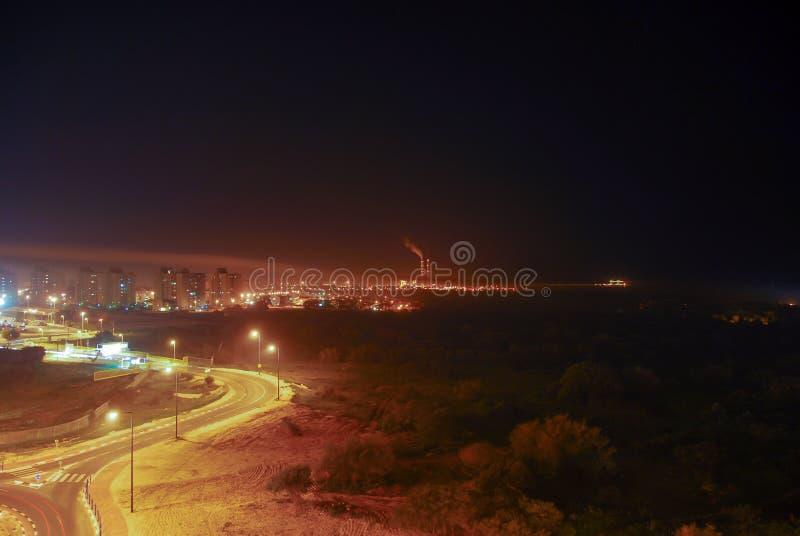 Vista de Gaza de Israel fotografia de stock