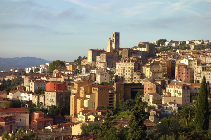 Vista de Grasse, França fotos de stock royalty free